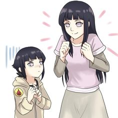 collection of hinata past and present