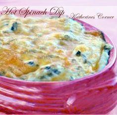 hot spinach dip katherines corner