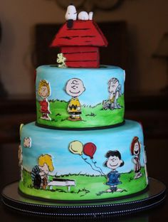 Themed party: Peanuts, Charlie Brown, Snoopy on Pinterest