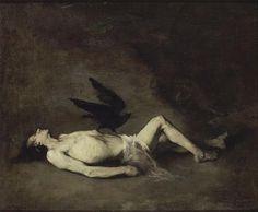 Augustin-Théodule Ribot (French, 1823-1891), St. Vincent (of Saragossa). Oil on canvas. Musée des Beaux-Arts, Château de Blois.