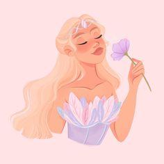 Barbie Movies, Cute Art Styles, Barbie Princess, Fantasy Character Design, Cute Cartoon Wallpapers, Disney Cartoons, Girl Cartoon, Disney Art, Art Studios
