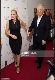Alan Rickman & Kate Winslet - Getty Images