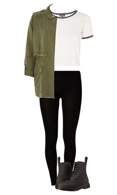 """""""Untitled #79"""" by catthew5303 on Polyvore featuring Majestic, Topshop, River Island and Dr. Martens"""