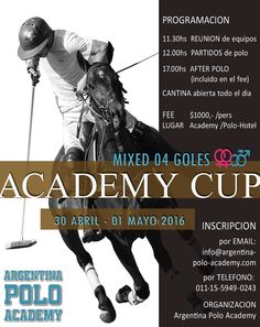 April 30 – May 01: Mixed Academy Cup