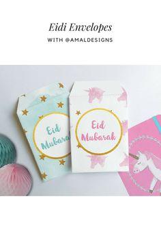 food party _ idea home sweets wedding design decor gifts pijama love flowers phone photo Carte Eid Mubarak, Eid Mubarak Gift, Happy Eid Mubarak, Cash Money, Eid Envelopes, Handmade Envelopes, Diy Eid Decorations, Eid Crafts, Cricut