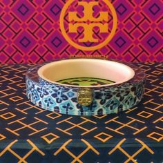 TORY BURCH Bangle NWT TB bangle bracelet. Dust bag and gift box included. NO TRADES, HOLDS, or NON PM TRANSACTIONS. Reasonable offers welcome via offer button. Tory Burch Jewelry Bracelets