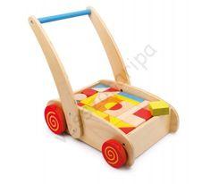 Járássegítő tologatós kocsi