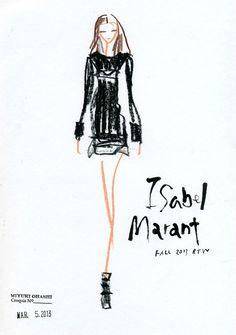 Fashion-иллюстрации Miyuki Ohashi — Будьте в тренде!