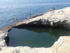 Gyola , natural pool