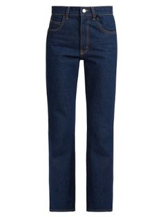 Rosa high-rise kick-flare jeans   Attico   MATCHESFASHION.COM
