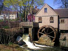 Plymouth, MA  Jenny Grist Mill