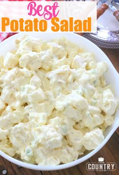 Best Potato Salad recipe from The Country Cook