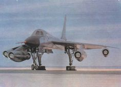 B-58 Hustler. Stork-like without the weapons pod