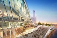 Kaohsiung Port and Cruise Service Center by HMC Architects