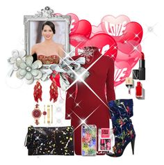 """Untitled #4092"" by princhelle-mack ❤ liked on Polyvore featuring Rumour London, Marni, Loeffler Randall, Anne Klein and NARS Cosmetics"