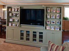 Custom cabinets, custom cabinetry, custom kitchens made for your home by Crown Point Cabinetry Cd Storage Units, Built In Storage, Dvd Storage, Storage Ideas, Painted Entertainment Centers, Entertainment Room, Living Room Cabinets, Living Room Storage, Crown Point Cabinetry