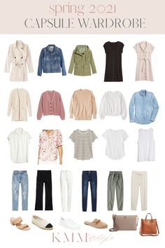 Capsule Wardrobe Women, French Capsule Wardrobe, Capsule Outfits, Fashion Capsule, Minimalist Wardrobe Essentials, Spring Outfits, Beauty, My Style, Chicken Chowder
