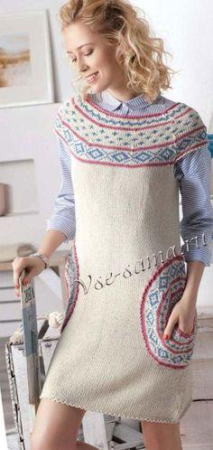Платье с жаккардовым орнаментом, фото