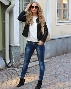 Edgy Outfits, Cute Outfits, Fashion Outfits, Fashion Trends, Beautiful Outfits, Fall Fashion, Fashion Clothes, Fashion Ideas, Fashion Jewelry