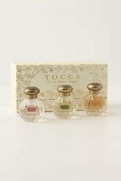 There are 3 tocca perfume / scents I love. Such densely scented fragrances.