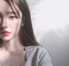 Find images and videos about girl, korean and ulzzang on We Heart It - the app to get lost in what you love. Mode Ulzzang, Ulzzang Korean Girl, Uzzlang Girl, Girl Face, Korean Beauty, Asian Beauty, Pretty Asian, Pretty Face, Pretty People