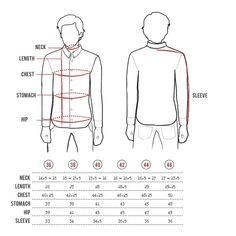 european men's clothing size conversion | http://www ...