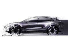 2018 Porsche New Cayenne sketch