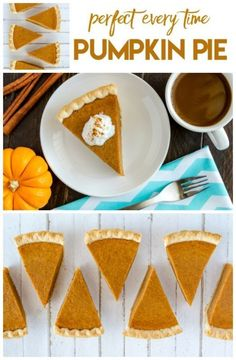 Bake the perfect Pumpkin Pie EVERY TIME! This pumpkin pie recipe is great for fall! Great for Thanksgiving and Christmas.