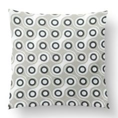 "18"" Custom Outdoor Linked Cushion  Linked Item# CC-OD0005 100% Polyester Cover 100% Polyester Fill Neutral Custom Outdoor Cushions, Fill, Neutral, Cover, Prints, Design"