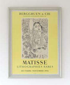 Henri Matisse 1954 - hellethygesen.com