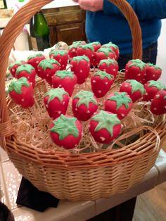 Strawberry Cake Pops #ChefJP