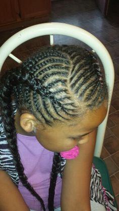 Cornrow Styles For Little Girls On Pinterest Mohawks