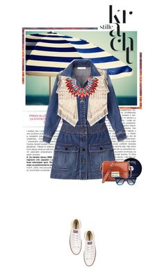 """SM6 #2 - Jeans"" by ginevra-18 ❤ liked on Polyvore featuring Etro, Silvia Rossi and Converse"