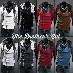 Assassins Hoodie HD18 | The Brothers Cut. I could care less if it is a guy's hoodie. I want this!!!