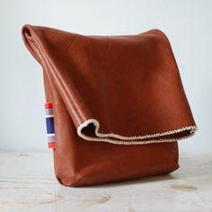 K. Flick Studio. #leather #bag #handmade