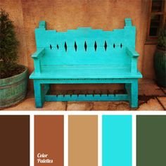 contrasting colors color combinations for all occasions part 6 - Santa Fe Colors