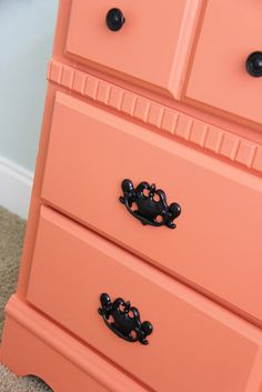 The Chronicles of Ruthie Hart: DIY Desk Makeover. How to paint furniture without sanding.