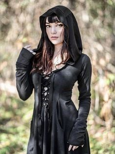 Crossfox Vampires, Earthy Style, I Feel Pretty, Hoodie Dress, Alternative Girls, Princess Seam, Gothic Beauty, Cosplay, Organic Cotton