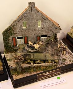 Here are the best of the Military Vignettes at theworldleading modelling show held every year in England – the world famous Euro Milita...