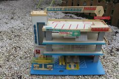 Ancien Garage Voiture Station Service KAD | eBay