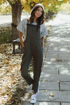 All the Feels Olive Jumpsuit