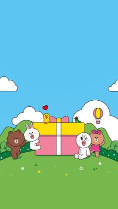 Cony Brown, Brown Line, Bear Wallpaper, Line Friends, Cute Doodles, Girl Cartoon, Cute Cards, Cute Pictures, Snoopy