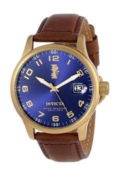 Ceas, maro închis/albastru - Invicta - #Invicta #watches #ceasuri #accesorii #accessories #designer #watch #style #stil #moda #fashion #femei #stil #style #barbati #men