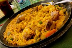 Paella at Toledo, Spain