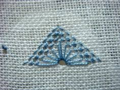 Whitework Embroidery: 2016 Pulled Thread Pattern No.18