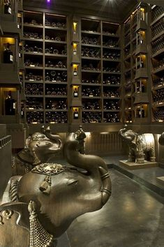 wine cellar: