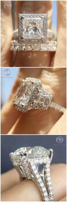 Stunning Assorted Engagement Rings Follow markbroumand