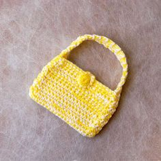 New Girly Girl Fashion Fun Crochet Purse Handbag by NutmegCottage, $12.00