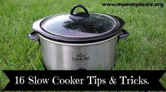 16 Slow Cooker Tips and Tricks from a Slow Cooking Queen! #slowcooker  #crockpot