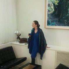 自宅にて、雑誌「プレシャス」の連載撮影。#桐島かれん#houseoflotus